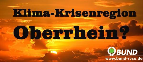Klima Klimawandel Hitzesommer Trockenheit Am Oberrhein