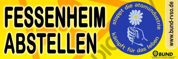 Akw Fessenheim Banner Aufkleber Plakate Flyer Anstecker